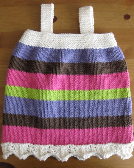 Beth Pinafore Front
