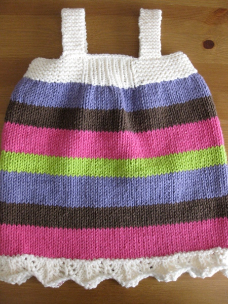 Beth Pinafore Back