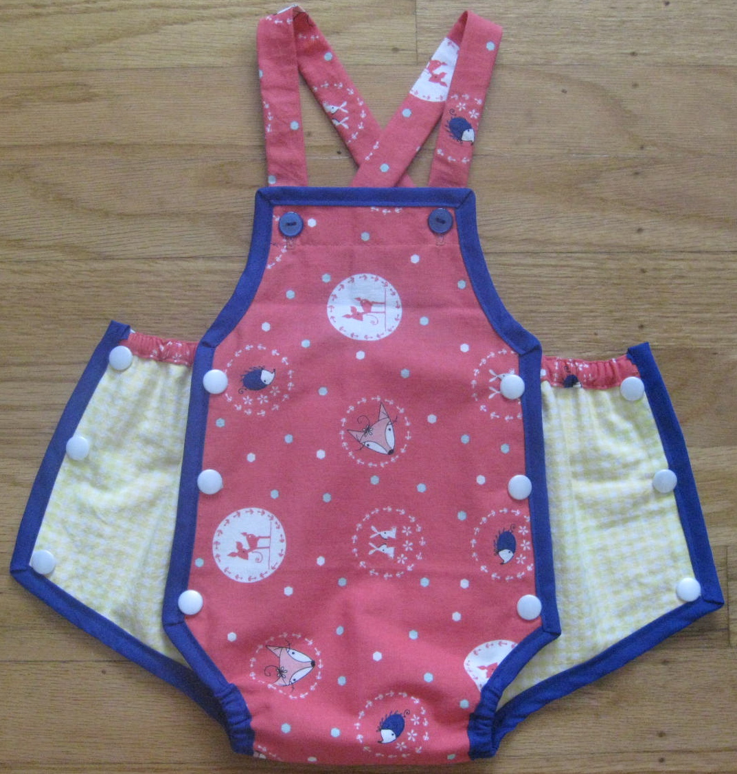 1950 S Vintage Simplicity Pattern 1443 Baby Romper