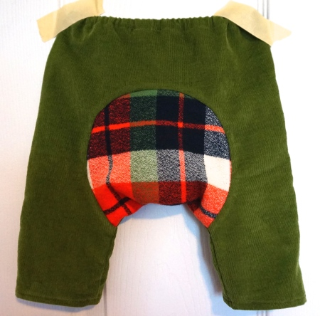 Baby Pants Gusset
