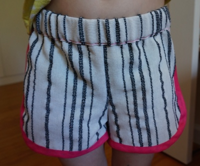 Striped Shorts Front