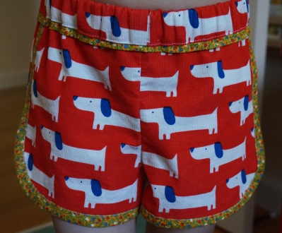Red Rover Shorts Front