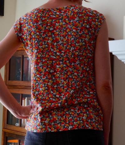 Back Floral top